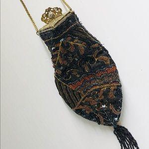 Handbags - Vintage Style Beaded Purse